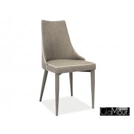 Krzesło Soren w kolorze jasno brązowym