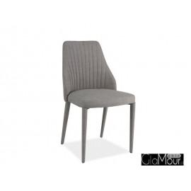 Krzesło Arsen w kolorze szarym