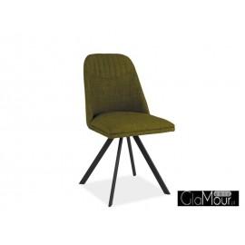 Eleganckie Krzesło Milton kolor zielony