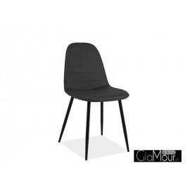 Krzesło Teo B w kolorze szarym