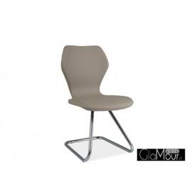 Krzesło H-677 kolor niebieski