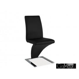 Krzesło H-010 kolor czarny