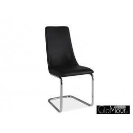 Kzesło H-255 kolor czarny