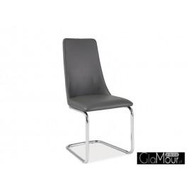 Kzesło H-255 kolor szary