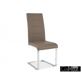 Krzesło H-629 kolor szary