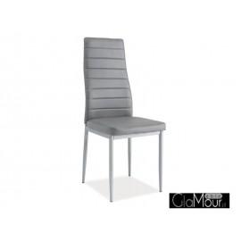 Krzesło H-261 bis alu kolor szary