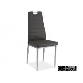 Krzesło H-260 kolor szary