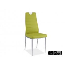 Krzesło H-260 kolor fioletowy