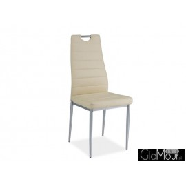 Krzesło H-260 kolor czarny