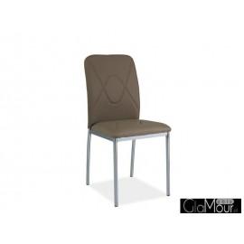 Krzesło H-623 kolor biały