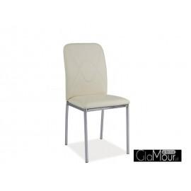 Krzesło H-623 kolor szary