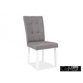Krzesło Oxford olor szary-biały