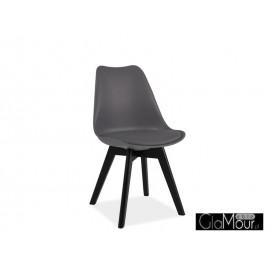 Krzesło Kris II kolor szary