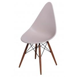Krzesło Rush DSW beżowe/dark