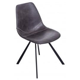Krzesło Vincent M szare
