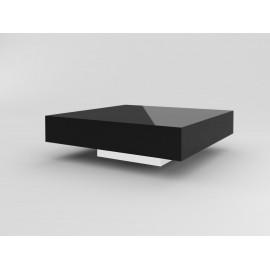 Stolik Small Quadrat 80 czarny biały 35