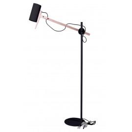 Lampa podłogowa Stork czarna