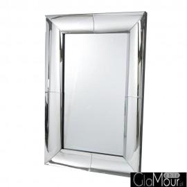 Angelia 180x90 - prostokątne lustro dekoracyjne w fazowanej ramie lustrzanej