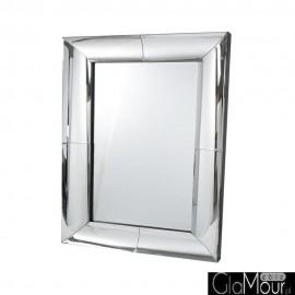 Angelia 150x90 - prostokątne lustro dekoracyjne w fazowanej ramie lustrzanej