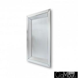 Tetyda 80x120 - prostokątne lustro dekoracyjne w lustrzanej ramie