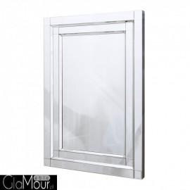 Nina 150x90 - prostokątne lustro dekoracyjne w ramie lustrzanej