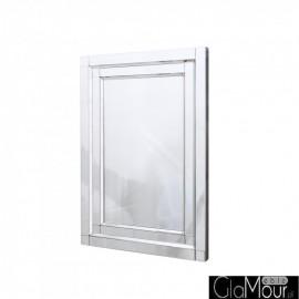 Nina 70x100 prostokątne lustro dekoracyjne w ramie lustrzanej