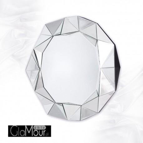 Okrągłe lustro Blanka