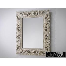 Eleganckie lustro w barokowej ramie 80x100 Pu-058