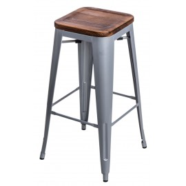 Hoker Paris Wood 75cm srebrny sosna