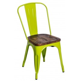 Krzesło Paris Wood ziel. jasny sosna