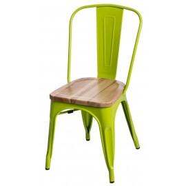 Krzesło Paris Wood zielony jasny jesion