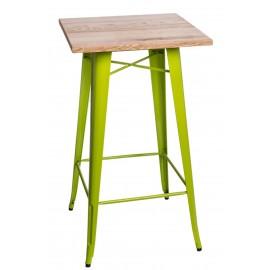 Stół barowy Paris Wood ziel. jas. jesion