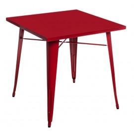 Stół Paris czerwony