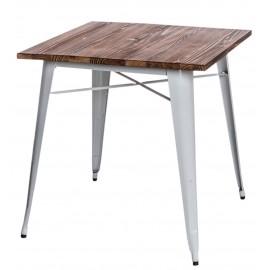 Stół Paris Wood biały sosna