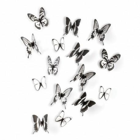 Zestaw dekoracyjny Chrysalis trans/czarn