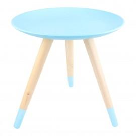Stolik Fugo niebieski jasny