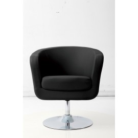 Fotel Magnum K-biały S- czarne
