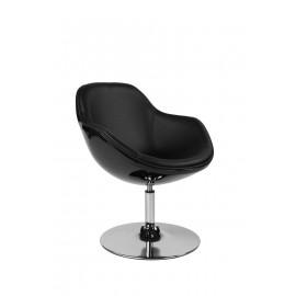Fotel Pezzo K- czarny S-czarne