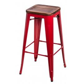Hoker Paris Wood 75cm czerwony sosna