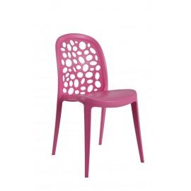 Krzesło Bladder różowe