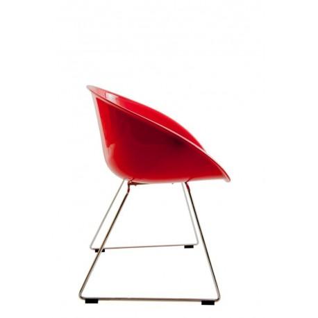 Krzesło Cube czerwone