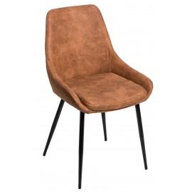 Krzesło Floyd brązowe jasne 1023