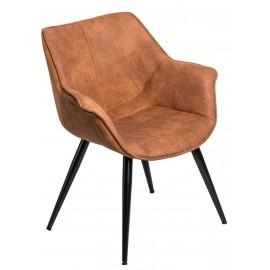 Krzesło Lord brązowe jasne 1023