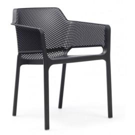 Krzesło Net grafitowe