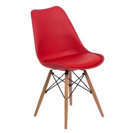 Krzesło Norden DSW czerwone