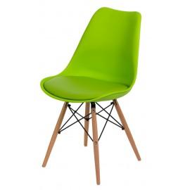 Krzesło Norden DSW zielone