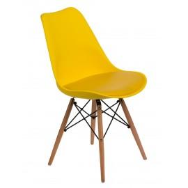 Krzesło Norden DSW żółte
