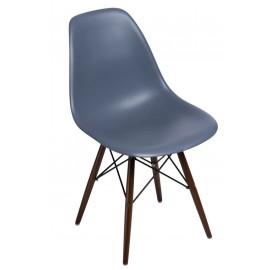 Krzesło P016W PP dark grey dark nogi