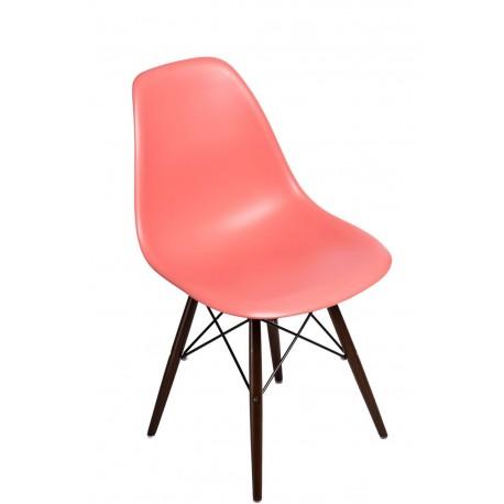 Krzesło P016W PP dark peach dark nogi