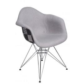 Krzesło P018 DAR Pattern szare/patchwork